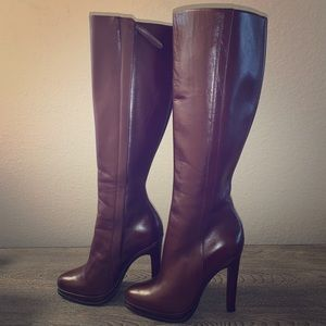 UGG Raffaela Italian brown Leather boots